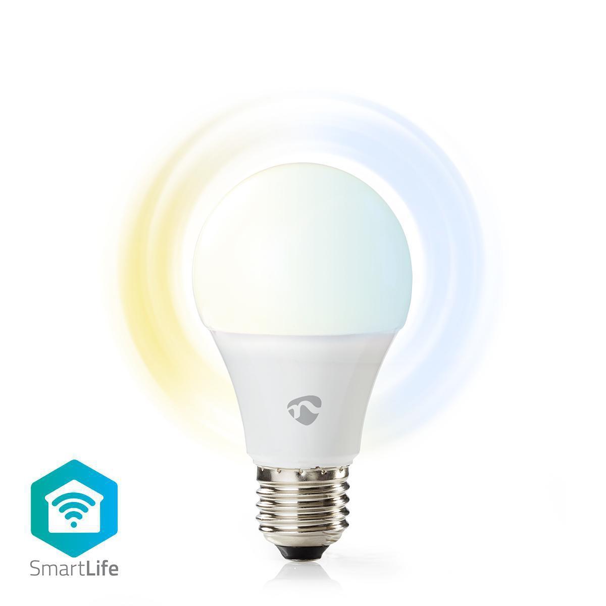 WiFi Smart LED-lampa | Varmt till kallt vitt | E27