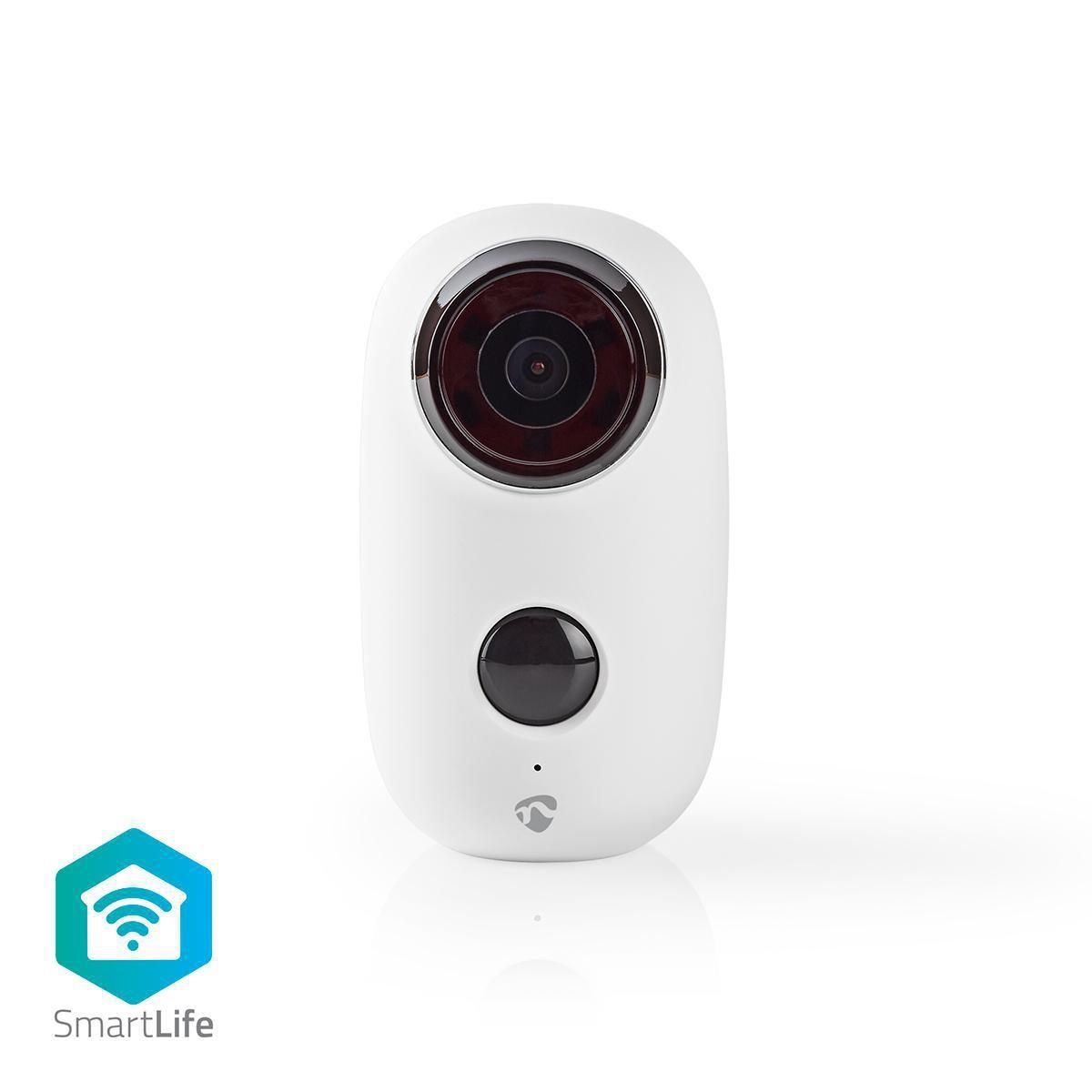 Laddningsbar IP-kamera | För utomhusbruk | PIR rörelsesensor | microSD | 6000 mAh