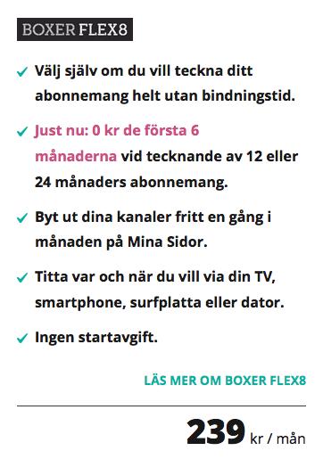 Boxer Flex8