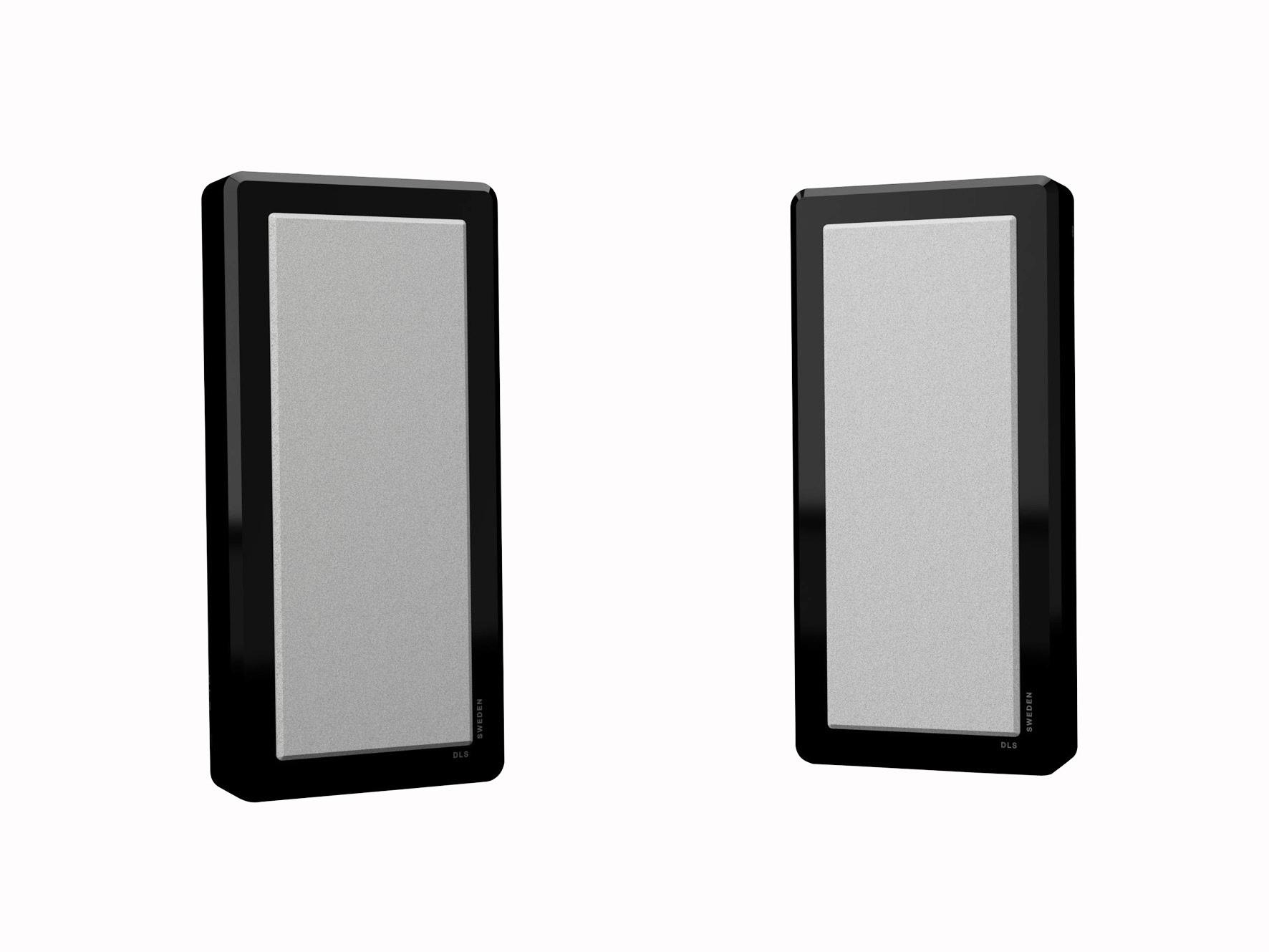 DLS Flatbox M-One Svart