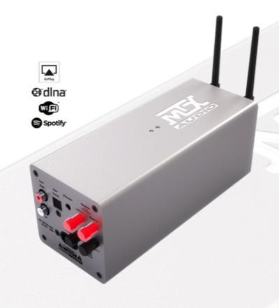 MTX Inwall Amplifier 2×50 W wifi